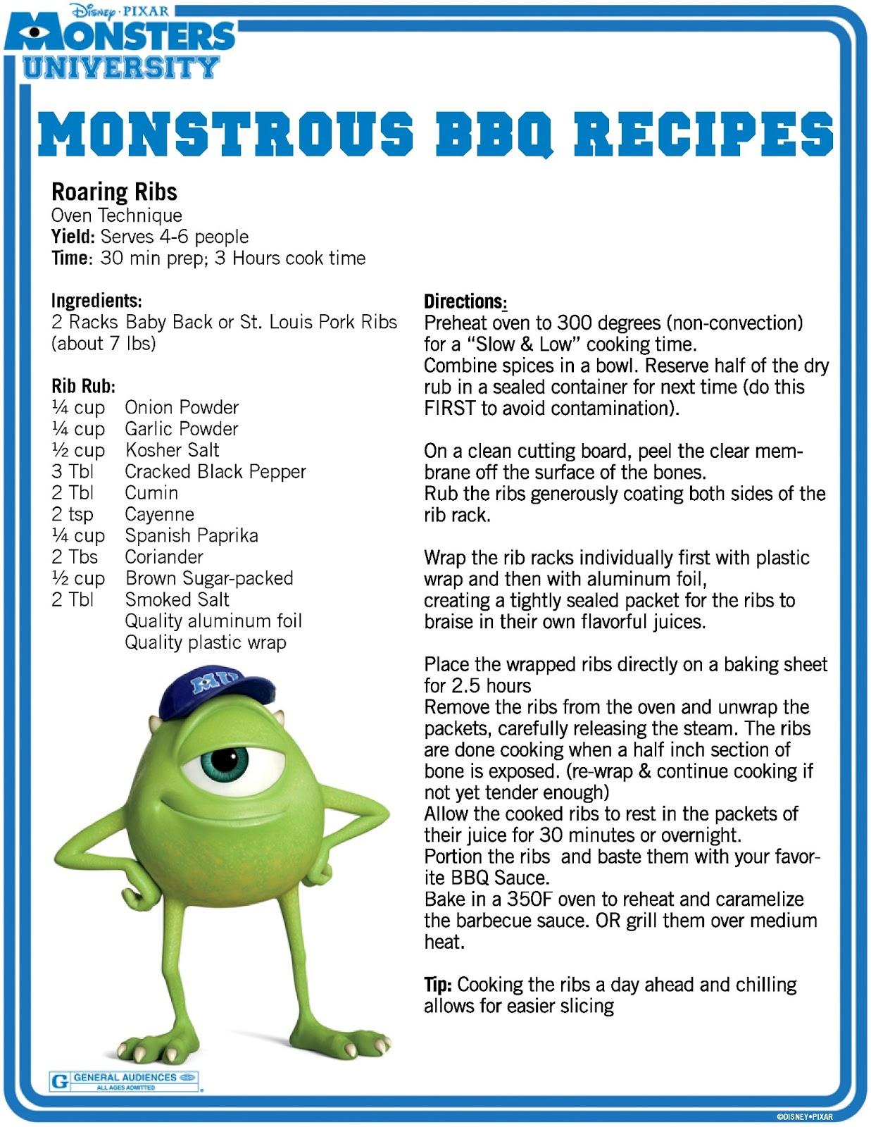 Java John Z S Monsters University Bbq Recipes