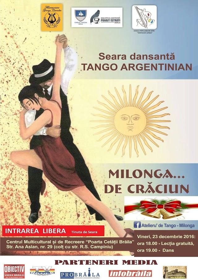 Seara dansanta la Lyra: Tango argentinian