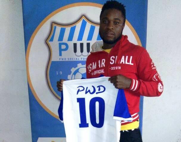 Goal Scorer Lukong Fonyuy Joins PWD Bamenda