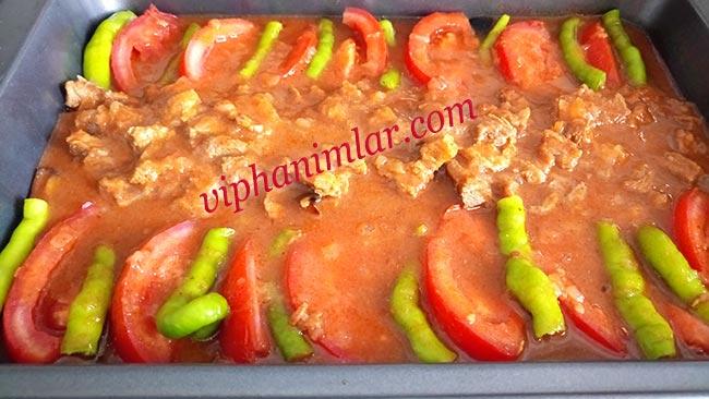 Fırında Parmak Kebabı Yapımı - viphanimlar.com