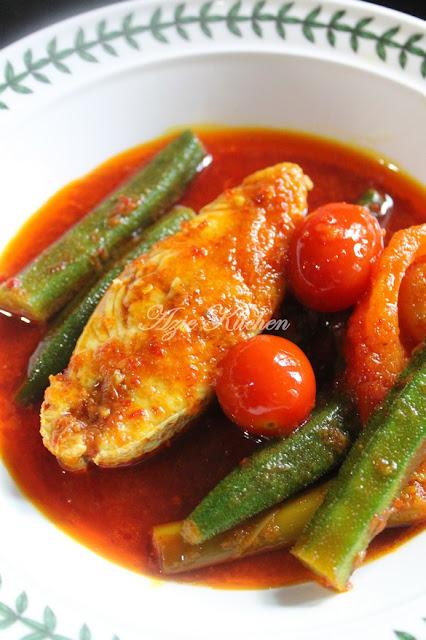 Masak Asam Pedas Ikan Merah Yang Terlajak Sedap