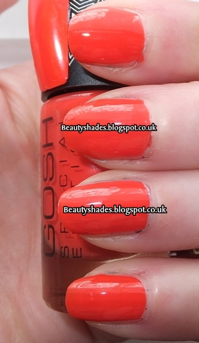 Gosh Tropicana Nail Swatch