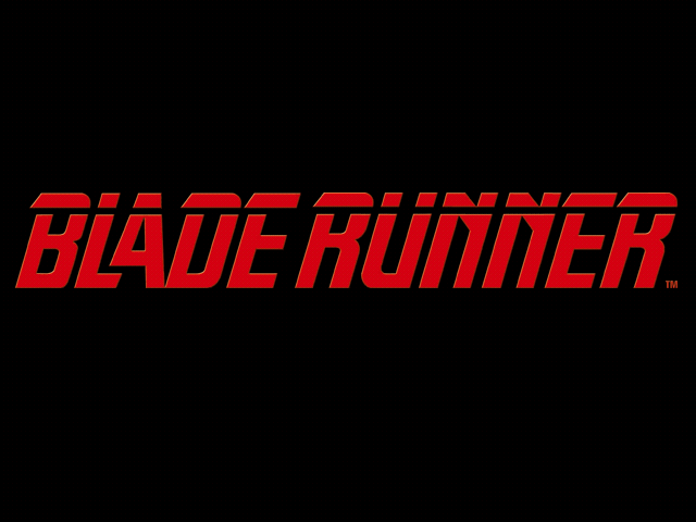 Blade Runner pc title screen