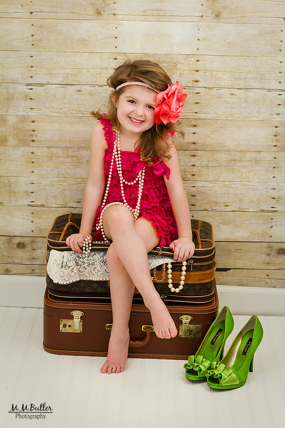 Sophie's Dress-up Photo Shoot