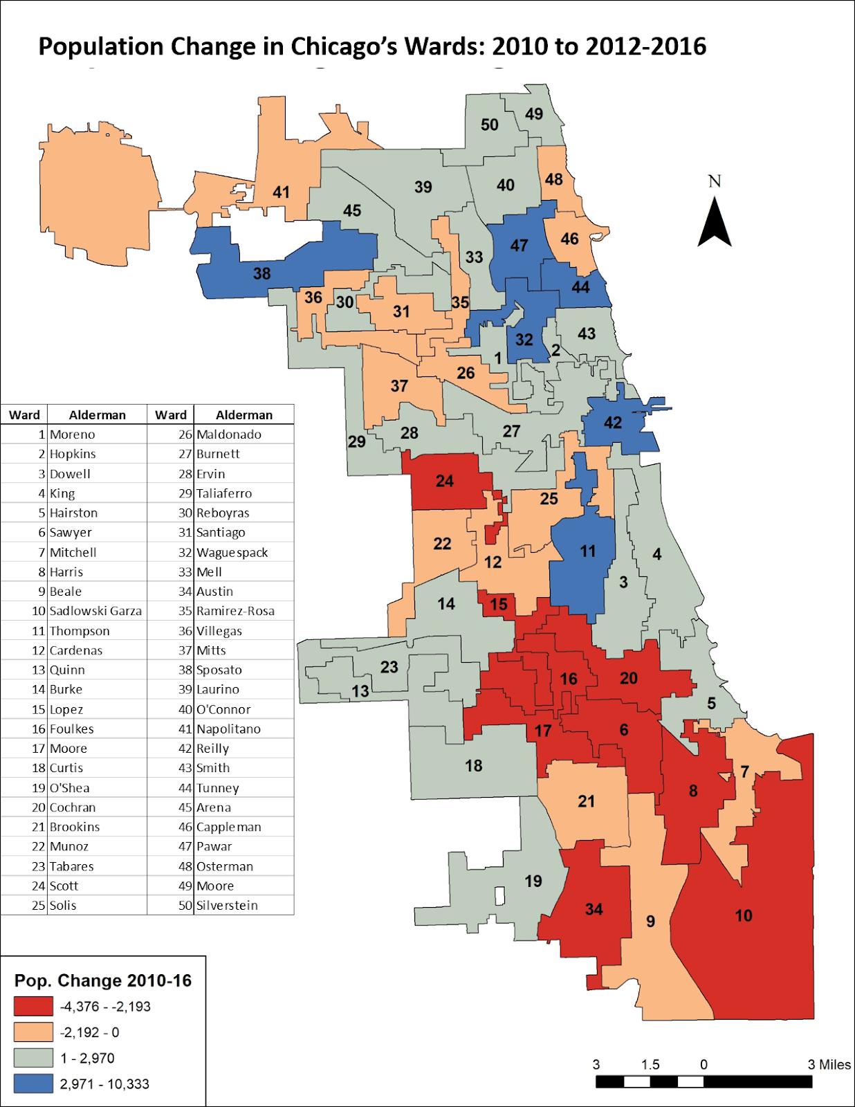 Updated Chicago Ward Potion Estimates | Chicago Data Guy on