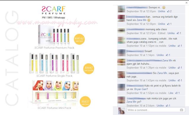 catalog SCARF Perfume