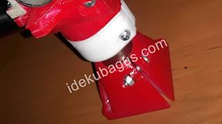 pemasangan kaki pada mesin cnc mpcnc