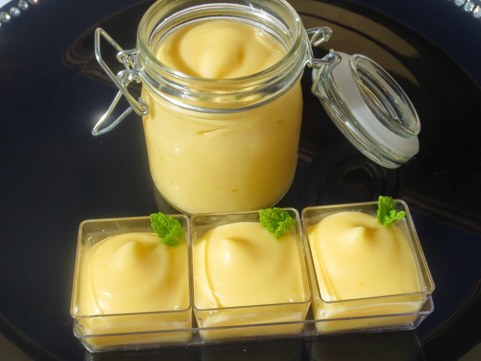 Lemon curd (Crema de limón) Thermomix