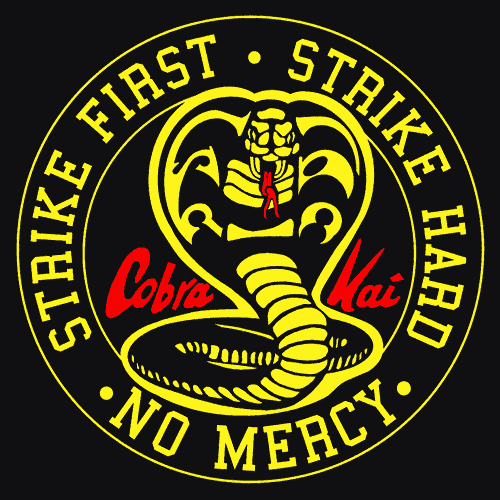 The Karate Kid Blog: Some Cobra Kai logos