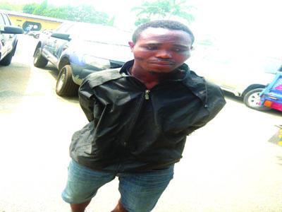armed robber joined eiye cult inside prison