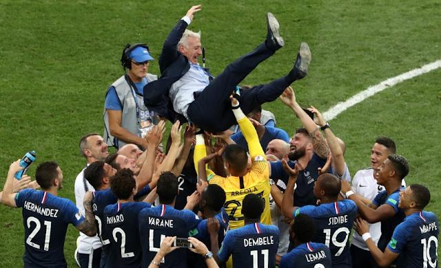 Video Highlight Final Piala Dunia: Perancis Juara Dunia