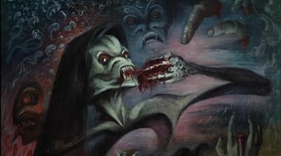 Una secuencia de The Creeping Flesh 1973