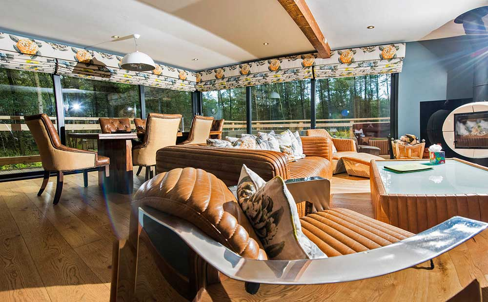 20 Lodges with Hot Tubs within a 90 minute drive of York  - Studford Luxury Lodges