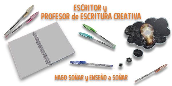 El rincón de Carlos del Río. Escritor y profesor de escritura creativa