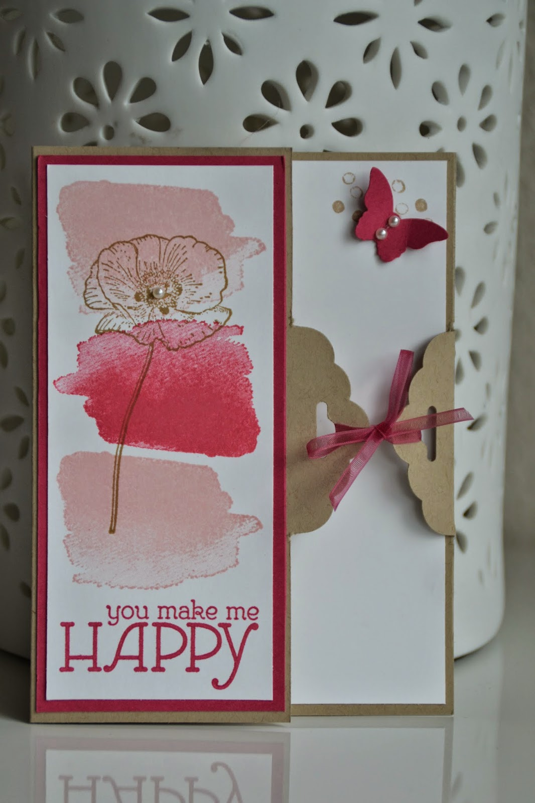 kreativ mit liebe tag topper card mit happy watercolor. Black Bedroom Furniture Sets. Home Design Ideas