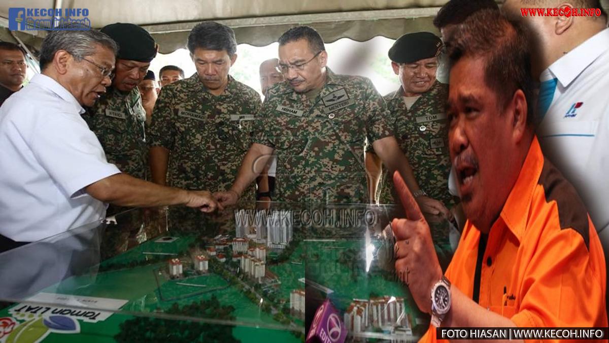Selepas Saja Mat Sabu Dilantik Menjadi Menteri Pertahanan, Inilah Perkara Pertama Yang Dilakukannya Iaitu Tuntut Hak Tentera Dan Mahu Kes Skandal Tanah ATM Dibongkarkan Seperti Yang Rakyat Mahu Tahu Katanya