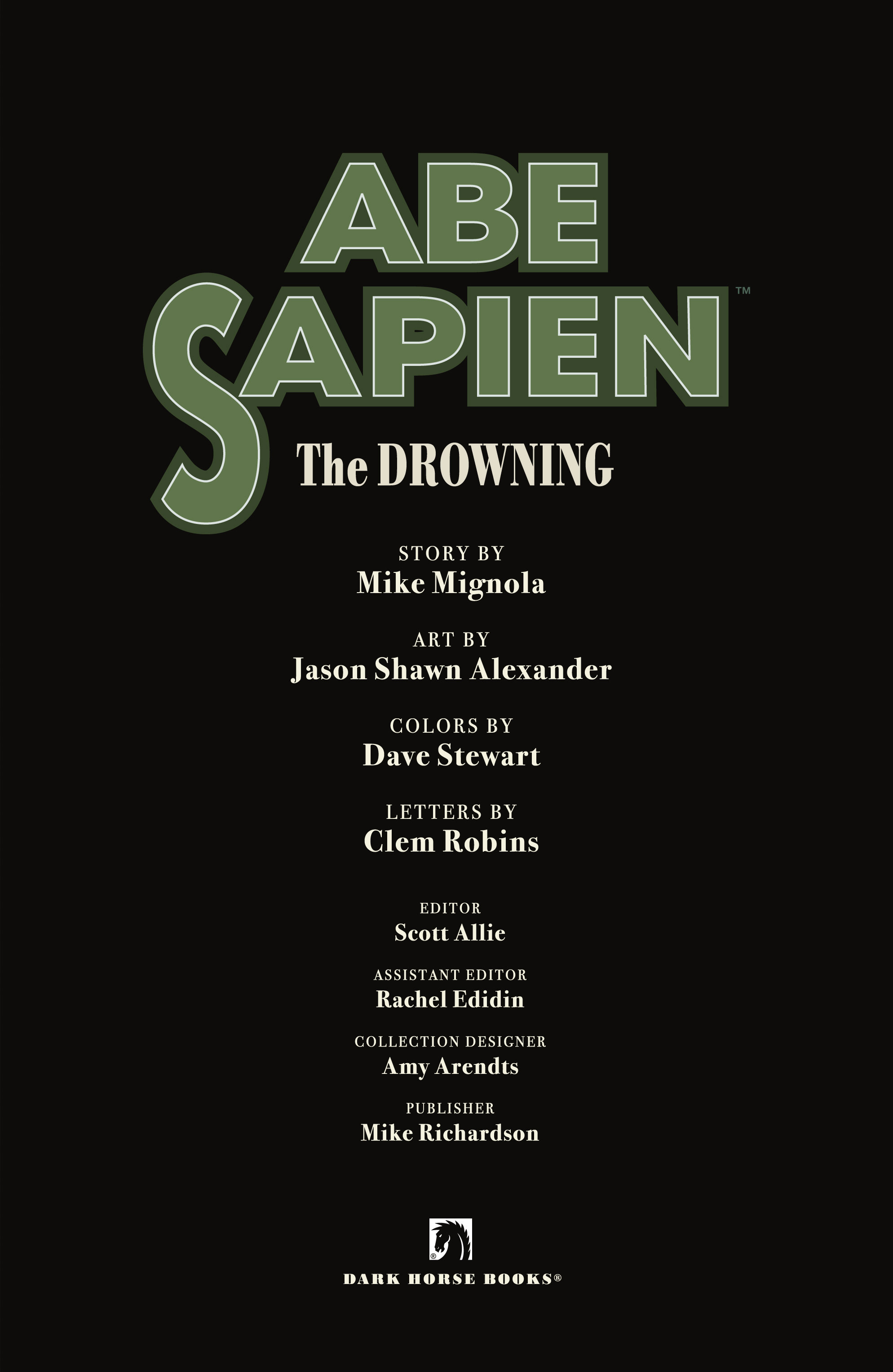 Read online Abe Sapien: The Drowning comic -  Issue #Abe Sapien: The Drowning _TPB - 5