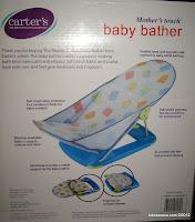 mother's touch, Carter baby bather, alat mandi bayi carter