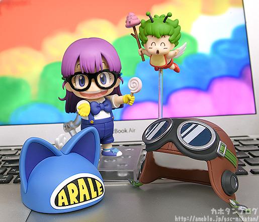 Nendoroid Arale Norimaki Cat Ears Ver. & Gatchan de Dr.Slump Arale-chan - Good Smile Company