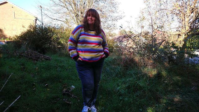 Striped jumper from George at Asda