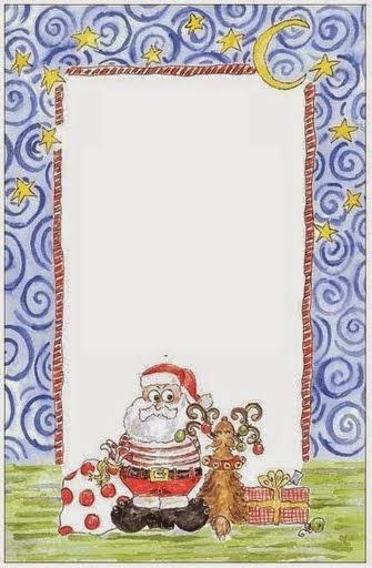 Marcos para Navidad para Imprimir Gratis.