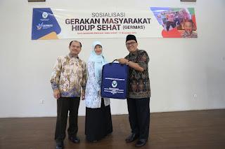 Wakil Walikota Bandung Oded M. Danial saat sosialisasi Gerakan Masyarakat Hidup Sehat