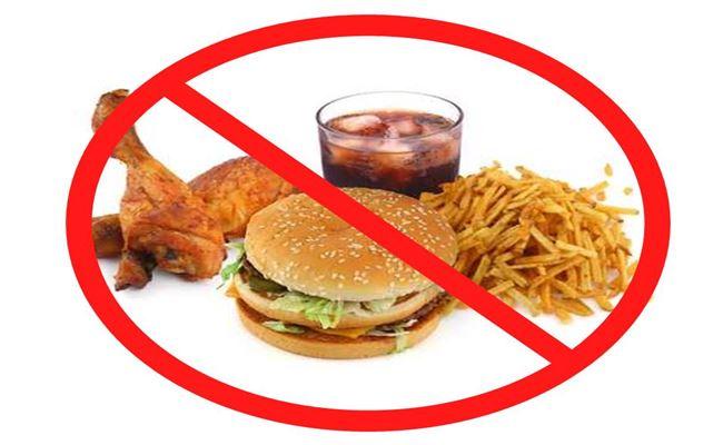 Evite os alimentos industrializados