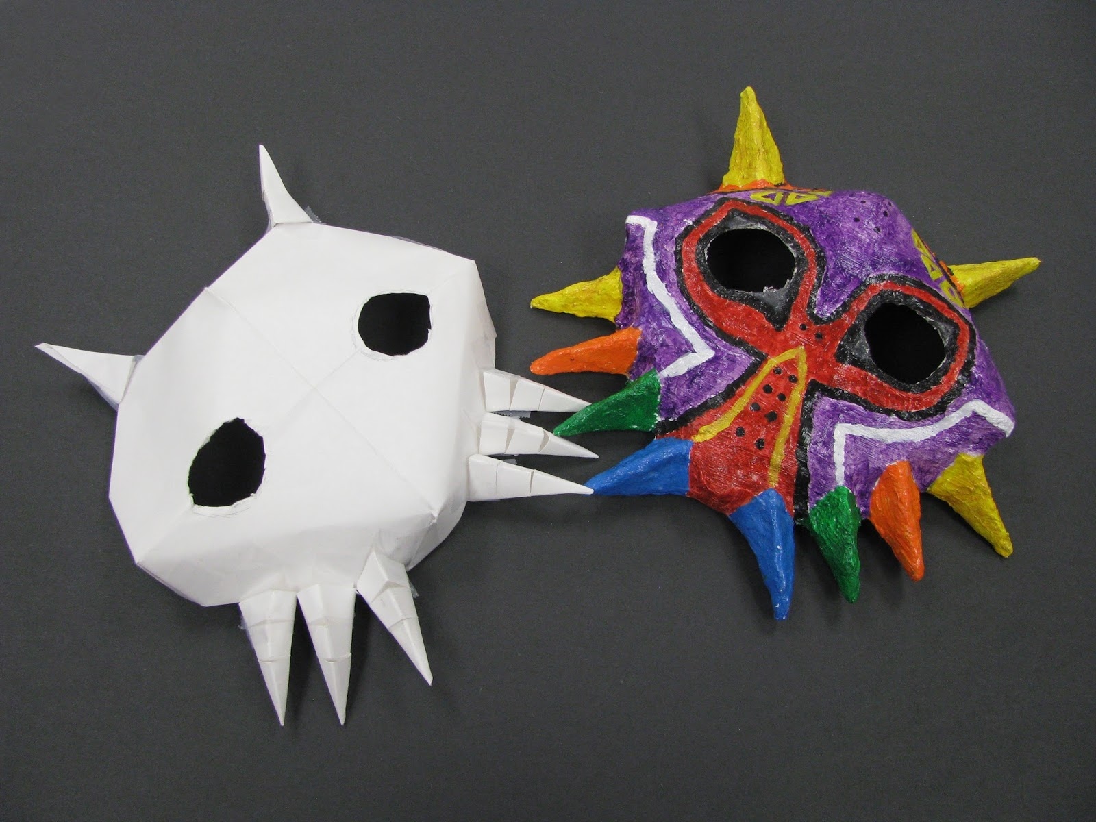 what is used to make vejigante masks