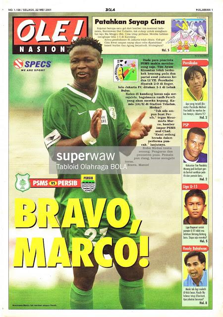 PSMS VS PERSIB BRAVO MARCO
