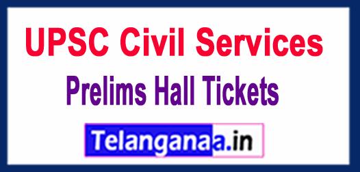UPSC Civil Services 2018 Prelims Hall Tickets