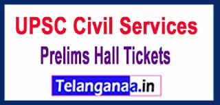 UPSC Civil Services 2017 Prelims Hall Tickets
