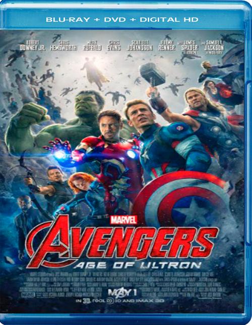 The Avengers: Age of Ultron [2015] [DVDR] [NTSC] [Latino] [Remasterizado]