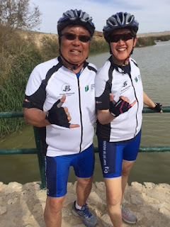 Don Wong, Vivien Wong on Ride for Yerucham