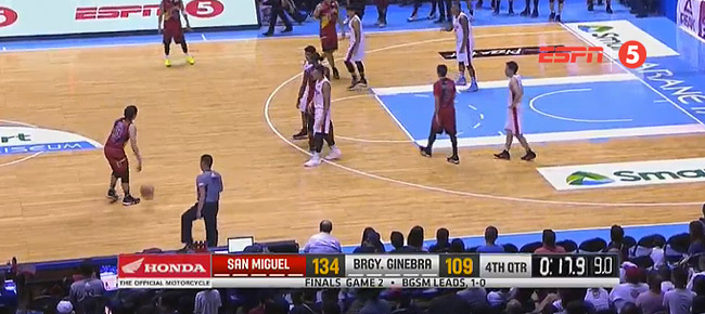 San Miguel def. Ginebra, 134-109 (REPLAY VIDEO) Finals Game 2 / July 29