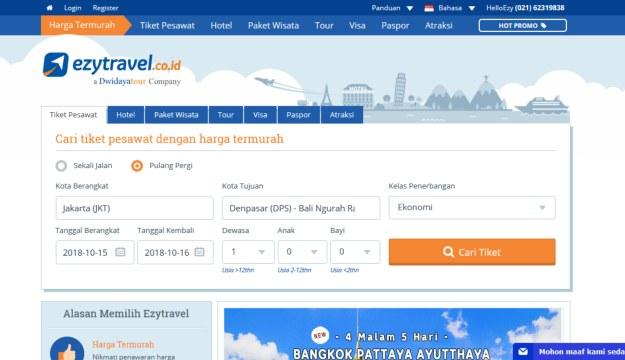 cara mencari tiket pesawat murah di internet