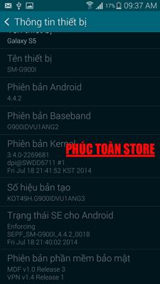 Tiếng Việt Samsung G900i 4.4.2 alt