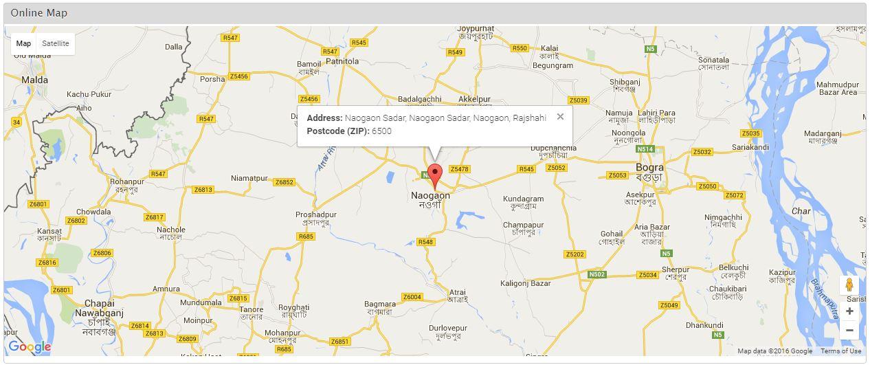 Naogaon District Naogaon Sadar Naogaon Sadar Naogaon Rajshahi