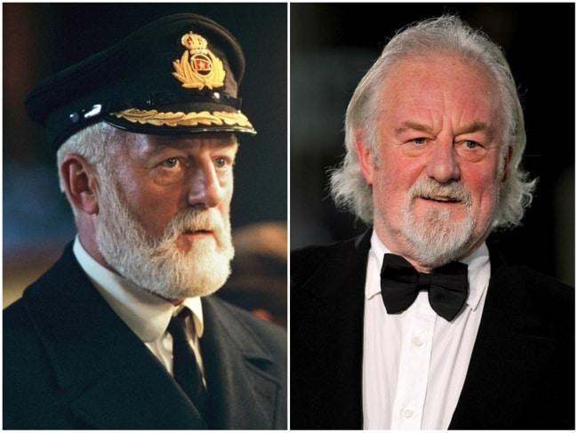 Bernard Hill (Capitão Edward James Smith)