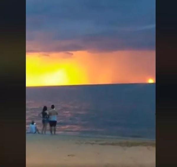 VIDEO: Captan 2 soles en brasil.