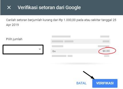 Cara Menambahkan Metode Pembayaran BANK pada Google Adsense