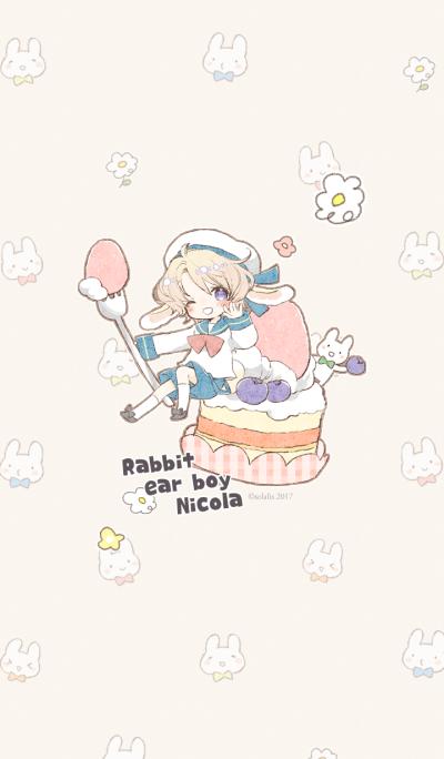 Rabbit ear boy Nicola2