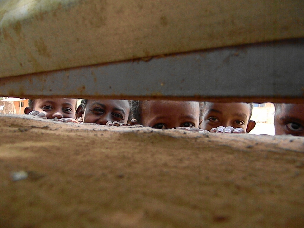 Smiling eyes, Ethiopia