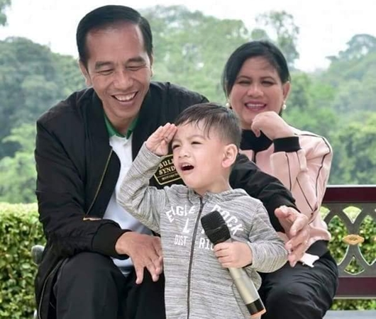 Jokowi: Kalau Sampai dilaporkan ke Bawaslu, Saya Suruh Cucu Saya Datang...