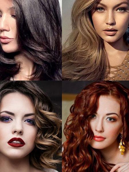 Модерни цветове 2019 за черна, руса, кестенява и червена коса
