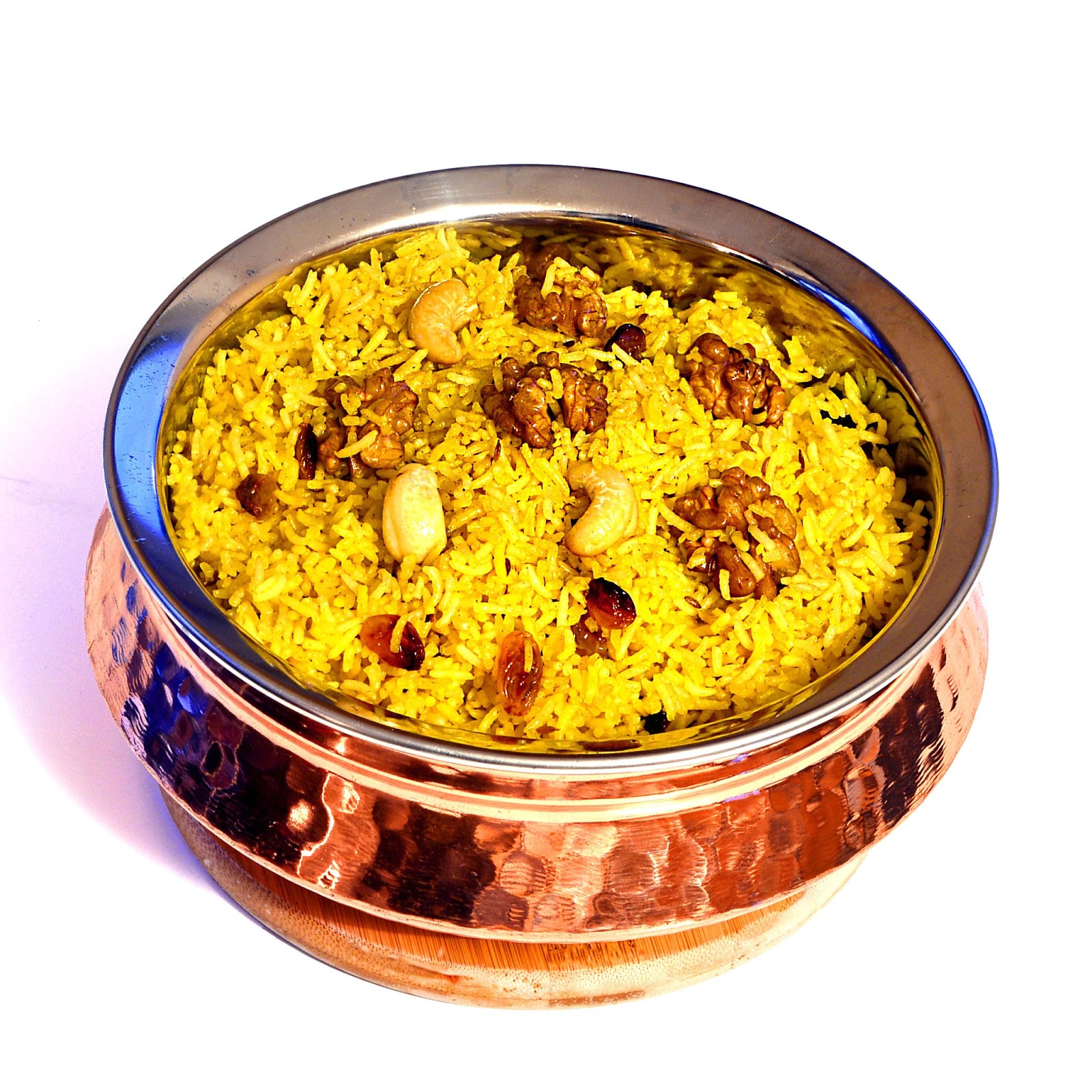 Zafrani Pulao (Saffron Rice) For That Special Dinner.