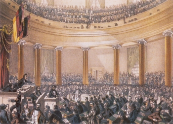 Sitzung der Frankfurter Nationalversammlung