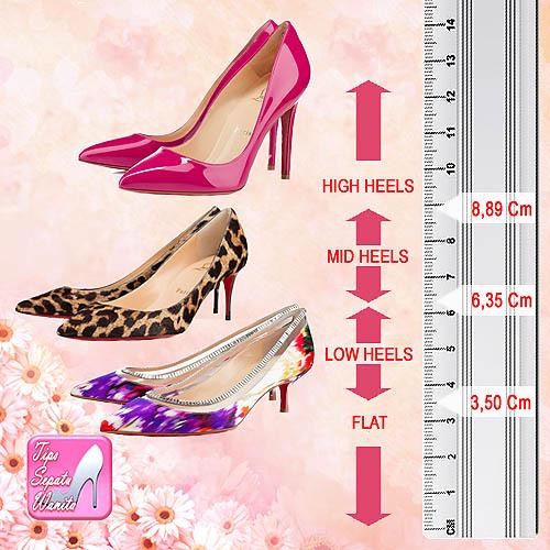 Ukuran Sepatu Heels 7