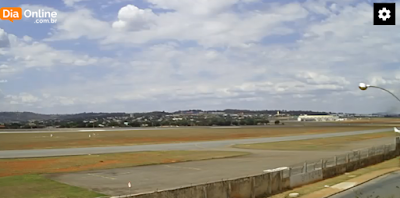 Câmera ao vivo do aeroporto santa genoveva goiania