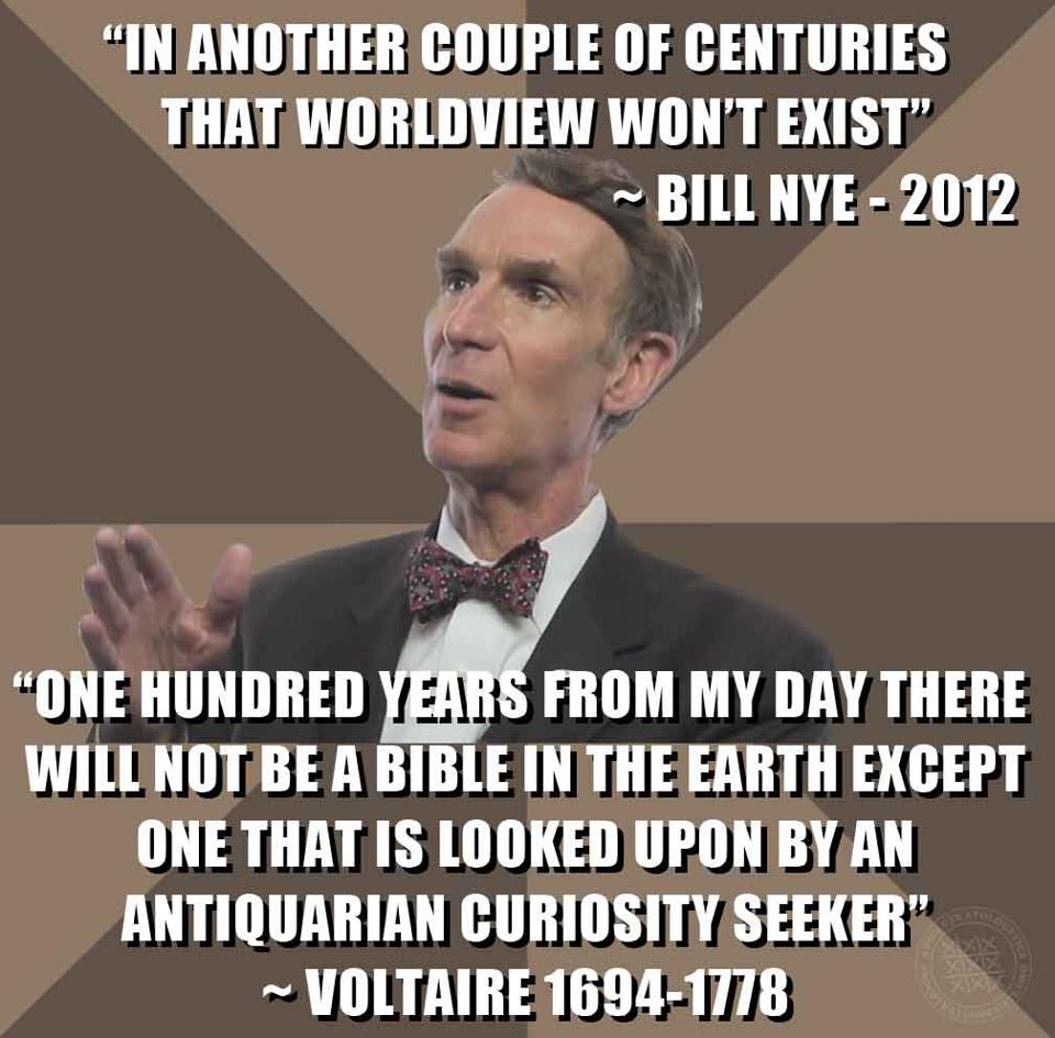 Another Challenge For Bill Nye