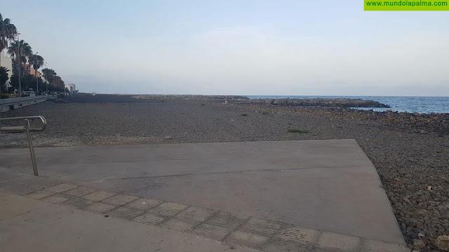 Costas autoriza el desarrollo de la zona sur de la playa, con la instalación de un kiosco y una plataforma de 400 metros cuadrados